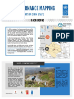 Highlights Local Governance Mapping Chin UNDP Jan2015