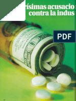 Acusaciones farmacéuticas