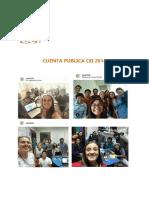 Cuenta Pública CEI 2018