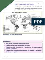 Cours TCSE Ecologie Chap 3 Climatique