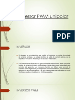 Inversor PWM Unipolar.pptx Trabajo 1