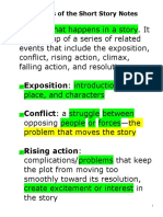 Elements of the Short Story Notes.doc