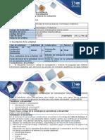 Guía de Actividades y Rúbrica de Evaluación - Fase 2 - Ciclo de La Tarea 2