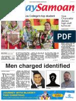 Samoa Observer Front Page 09 Dec 2018