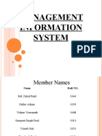 Management Information System TYBMS