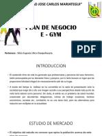 Plan de Negocio Basico Ejemplo Un GYM