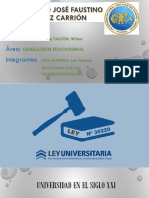 Ley Universitaria 30220