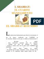 El Shabbat en Resumen