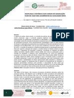 A INCLUSÃO DE DISCIPLINAS A DISTÂNCIA NOS CURSOS DE GRADUAÇÃO PRESENCIAL