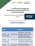 1. Marco de Acción de Los Equipos de Convivencia - C. Carrasco