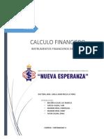 Instrumentos Financieros Derivados Por Terminar