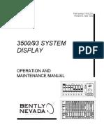 129768-01 Rev D 3500 20 Rack Interface Module Operation and Maintenance Manual