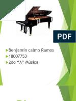 Diapositiva de Piano