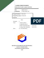 laporan inhibitor