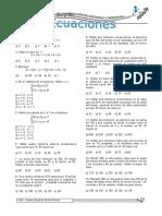 5to y 6to - Ecuaciones