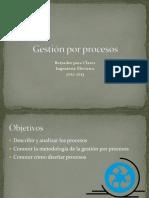 Clase n° 4 - Gestión por procesos, borrador para clases