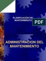 Planificación de Mantenimiento.ppt