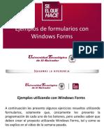 Ejemplos Formularios