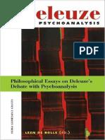 DE BOLLE, Leen. Deleuze and Psychoanalysis.pdf