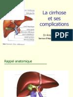 Cirrhose Et Ses Complications