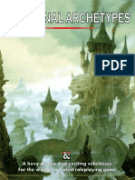 5e additional archtypes
