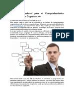 Modelo Estructural Para El Comportamiento Interno de Una Organización