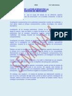 Estudio de La Publicidad en La Investigacin de Mercados