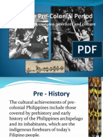 Literary Precolonial Period in the Philippines