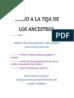 Culto a La Teja de Los Ancestros