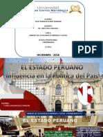 Estado Peruano y Su Influencia en La Política