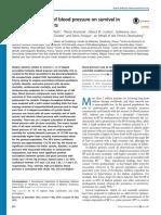 Efek Multifase Dari Tekanan Darah Pada Kelangsungan Hidup Pada Pasien Hemodialisis