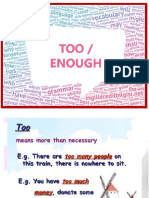 Management - V Ciclo - Too - Enough - Reading Comprehension-1