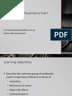 25 Antibiotics for Respiratory Inf 2013