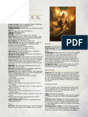5e Solar, Greater | Weaponry | Leisure