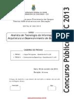 Analista Tec Inf Arquit Desenv Software