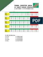 Jadwal Ugd Dr November Baru (1)