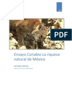 Ensayo Documental Conabio La Riqueza Natural de Mexico