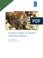 Ensayo Documental Conabio La Riqueza Natural de Mexico