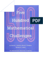 fivehundredmathematicalchallenges.pdf