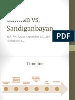 Galman vs Sandiganbayan