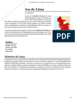 Anexo_Distritos de Lima - Wikipedia, La Enciclopedia Libre