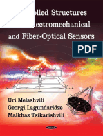 Controlled Structures With Electromechanical and Fiber Optic Sensors