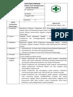 1.1.5.1 SOP  Monitoring Bukti Pelaksanaan (Pelaksana Melaksanakan Kegiatan SSI dgn Perencanaan Operasional.docx