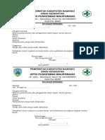 1.1.5.1 SOP Monitoring Bukti Pelaksanaan (Pelaksana Melaksanakan Kegiatan SSI Dgn Perencanaan Operasional