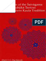 Canon of the Saivagama and the Kubjika Tantras of the Western Kaula Tradition (Mark S. G. Dyczkowsk)
