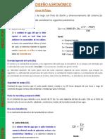 Clase - Diseño Agronomico RxA