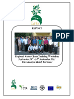 Final Report - Value Chain Training - Sept 2011 - Barbados