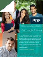 Diplomado y Especialidad en Psicología Clínica - Amapsi