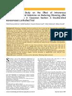 Jurnal Efek Ketamin Dan Hydrocortison(Jurnal)