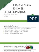 Keselamatan Kerja Pada Bengkel Elektroplating